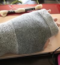 腱鞘炎のおたすけ手袋とカットワーク - Oharibako no yousei