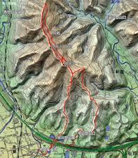 リハビリ山歩き高尾山 - 阿讃の山と谷