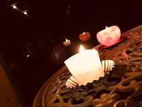 海風☆新月☆タオライアーとキャンドル瞑想会☆ - デザインに想いを込めて