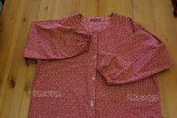 赤色の割烹着 - warmheart*洋服のサイズ直し・リフォーム*