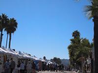 10月のアートショウ その1 - La Jolla - うつわづくり日記