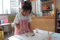 クラス旗作り - 慶応幼稚園ブログ【未来の子どもたちへ ~Dream Can Do!Reality Can Do!!~】