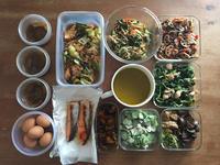 毎週の常備菜作り - satito's tableworks . . . things to be happy about