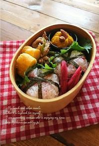 10.24焼肉&梅おにぎりお弁当 - YUKA'sレシピ♪