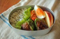 台風一過のほほ1年生のお弁当 - はぐくむキッチン