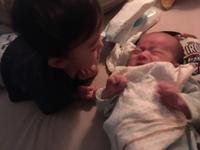 2歳3ヶ月21日と生後1ヶ月0日 - こんな私のはじめての妊娠・出産…そして子育て真っ最中