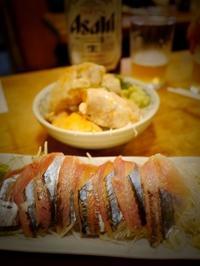 一時帰国で食べたものやっぱり最後は「魚三」で - 明日はハレルヤ in Bangkok