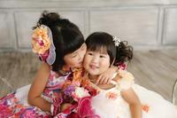 姉妹で撮影☆ - 鹿児島市 記念写真撮影■めでぃあが日記■