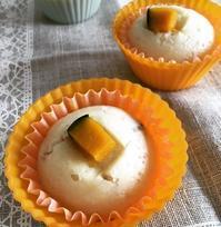 かぼちゃの蒸しパン1歳1か月のおやつ - Refreshments::Sweets:Bread