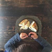 Bagle Lunch - 烏帽子への風