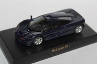 "1/64 Kyosho BRITISH SPORTS CAR McLaren ""Secret"" F1 - 1/87 SCHUCO & 1/64 KYOSHO ミニカーコレクション byまさーる"