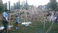 JIA埼玉空間デザインワークショップ「紙の森」をつくろう - アライ設計                                 「建築・環境・福祉」