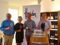 2017年 ワイン醸造家ハイダー・テイスティング ブルゲンランド州イルミッツ - ザルツブログ ザルツブルク在住者による、グルメ・文化・旅行の贅沢写真日記