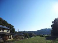 2017年10月26日・・・四方八方雲一つない青空 - 空と雲,季節の風と光と・・・景色
