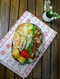 ドアノブ・・・<野菜てんぷら弁当> - やさしい毎日