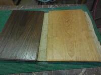 ランチョンマットの塗装 - 手作り家具工房の記録