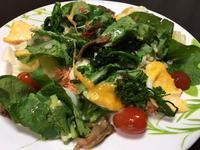 小松菜のサラダ - 食べるのだーい好き