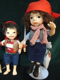 RUBY人形教室WEB展示会~「海賊王マロンの秘宝」~♪ 後編! - rubyの好きなこと日記
