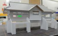 ミニレイアウト(24)~ 大きめの建物(3) - 【趣味なんだってば】 鉄道模型とジオラマの製作日記