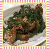 豚肉とピーマンの甘辛味噌炒め(レシピ付) - kajuの■今日のお料理・簡単レシピ■