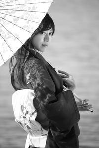 美雨ちゃん9 - モノクロポートレート写真館