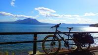 ロング舗装路活で支笏湖へ@2017.10.04 - 蝦夷 FAT BIKE SYNDICATE