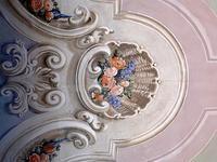 宮殿の壁の騙し絵 (Palazzo ducale di Sassuolo 5) - エミリアからの便り