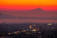 筑波山と日の出を!♪ - 『私のデジタル写真眼』