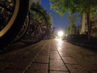 臨時駐輪場 / XQ1 - minamiazabu de 散歩