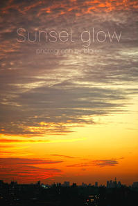 Sunsetglow - for  someone