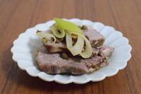 スロークッカー*豚肉と長ネギの山椒煮込み - 小皿ひとさら