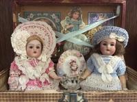 Antique doll - Little Flower