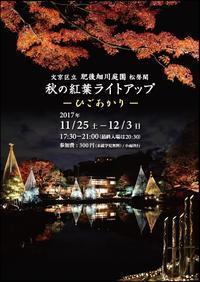 紅葉ライトアップ - ゲストハウス東京かぐらざか