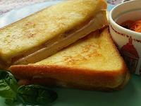 大好評クロックムッシュのブランチ - 料理研究家ブログ行長万里  日本全国 美味しい話