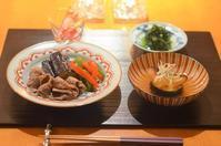 牛肉の利久煮/鯛のみなと蒸し - まほろば日記