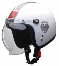 スーパーカブ60周年記念ヘルメット - バイクの横輪