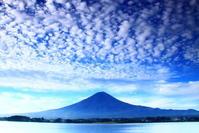 29年10月の富士(25)河口湖畔の富士 - 富士への散歩道 ~撮影記~