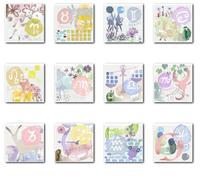 ハースト婦人画報25ans web×ミキモト星占いイラストレーション - まゆみん MAYUMIN Illustration Arts
