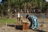 「象潟町FPの家」地鎮祭 - エコで快適な『FPの家』いかがですか!