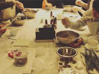 九州の食卓 石鹸教室ありがとうございました -  お花とハーブのアトリエ muguette