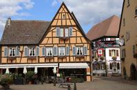 2015 スイスフランスツーリング アルザスワイン街道エギスハイムへ! - Motorradな日々 2
