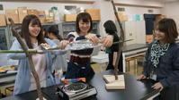 松戸アートピクニック③大成ゼミ理科室でバウムクーヘン作ってみました…。 - せいとくアートランダム