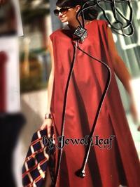 Cube  Necklace - 神戸北区西鈴蘭台グルーデコサロン(JGA認定校)★Jewel  Leaf★