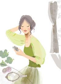 スコブルvol.24 cover 暮らしをつくる - まゆみん MAYUMIN Illustration Arts