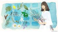 DHC olivechannel エジプト風の女性アロマセラピーの起源 - まゆみん MAYUMIN Illustration Arts