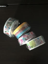 2017 AUTUMN 限定テープフェアで届いたテープ - 猫舌の店長(マスター)