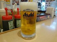 10/30夜勤明け 厚切り豚テキ定食ライス大盛り無料¥730 + 生ビール2杯¥300 - 無駄遣いな日々