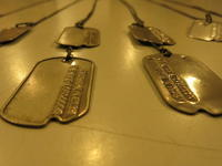 """""""1940'S MILITARY DOG TAG""""ってこんなこと。 - THE THREE ROBBERS ってこんなこと。"""