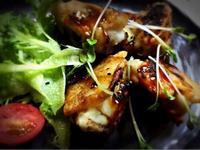 椎茸の肉詰め風 甘酢あんかけ - ナチュラル キッチン せさみ & ヒーリングルーム セサミ