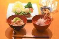 鯛の潮汁/和風ハンバーグ/鯛の炊き込みご飯 - まほろば食日記